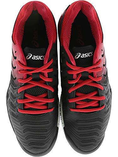 Zbqwqdz Homme Asics Silver Black Gel Chaussures Resolution® 7 Pour USzMVp