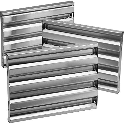 """Broan-Nutone RBFIP33 33"""" Baffle Filter For RMIP Series, Stainless Steel"""