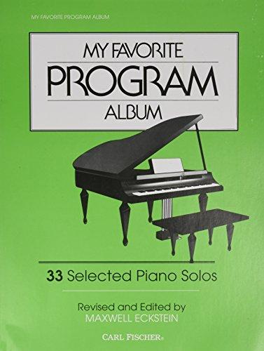 (Carl Fischer My Favorite Program Album (Piano))