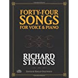 Forty-Four Songs for Voice and Piano