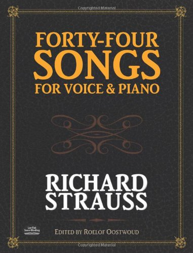 Download Forty-Four Songs for Voice and Piano (Dover Song Collections) pdf epub