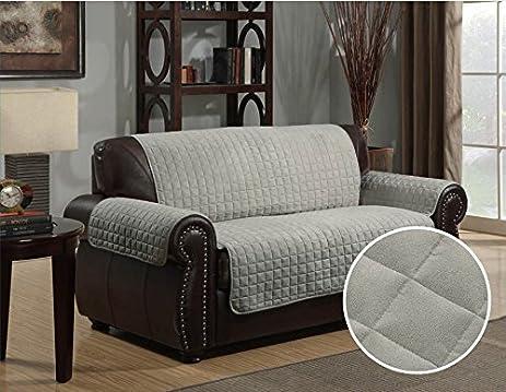 Amazon Reversible Microfiber Furniture Sofa Cover Chair Throw