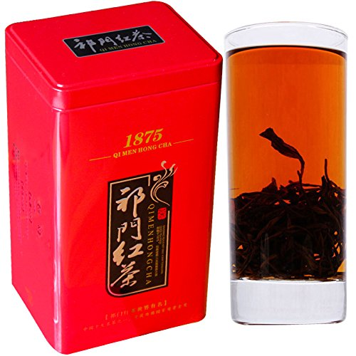 Aseus We set 2017 new fragrant tea Keemun Black Tea super (Keemun honey 500g canned Conch) double bag mail by Aseus-Ltd