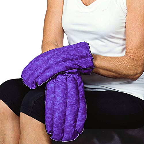 Kozy Collar Microwavable Heating Mittens for Hand and Fingers to Relieve Arthritis, Pains and Soreness - Natural, Safe and Reusable