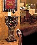 Wine Bottle Cork Serving Storage Table