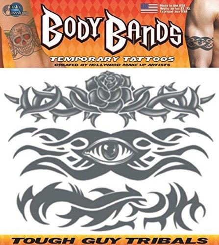 Tough Guy Tribal Band Temporary -