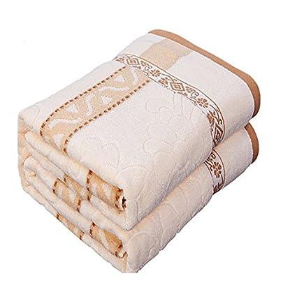 BDUK Toalla de algodón puro de verano se haga doble clic para niños de toallas y