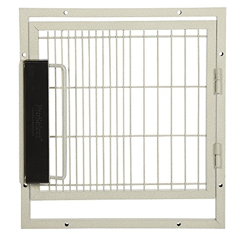"""ProSelect Replacement Doors for Kennels - Convenient Doors for ProSelect Modular Cages - Small, 17½""""W x 19½""""H, Sandstone"""