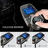Nulaxy 2017 Wireless in-Car Bluetooth FM