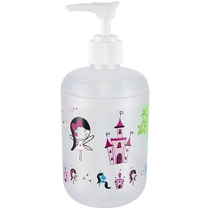 Spirella colección Fairy, Dispensador de jabón líquido Ø7,1x16,2 (0,