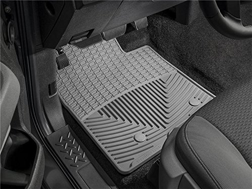 Chevy Weathertech 2010 (WeatherTech - W68GR - 2009-2011 Chevy Traverse Grey All Weather Floor Mats 1st Row)
