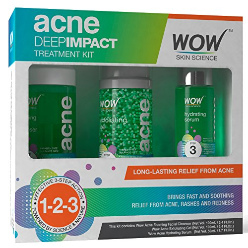 Wow Acne Deep Impact Treatment Kit