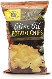 product image for Good Health Natural Foods Olive Oil Potato Chips, Sea Salt, 12 pk 5 oz (142 g)