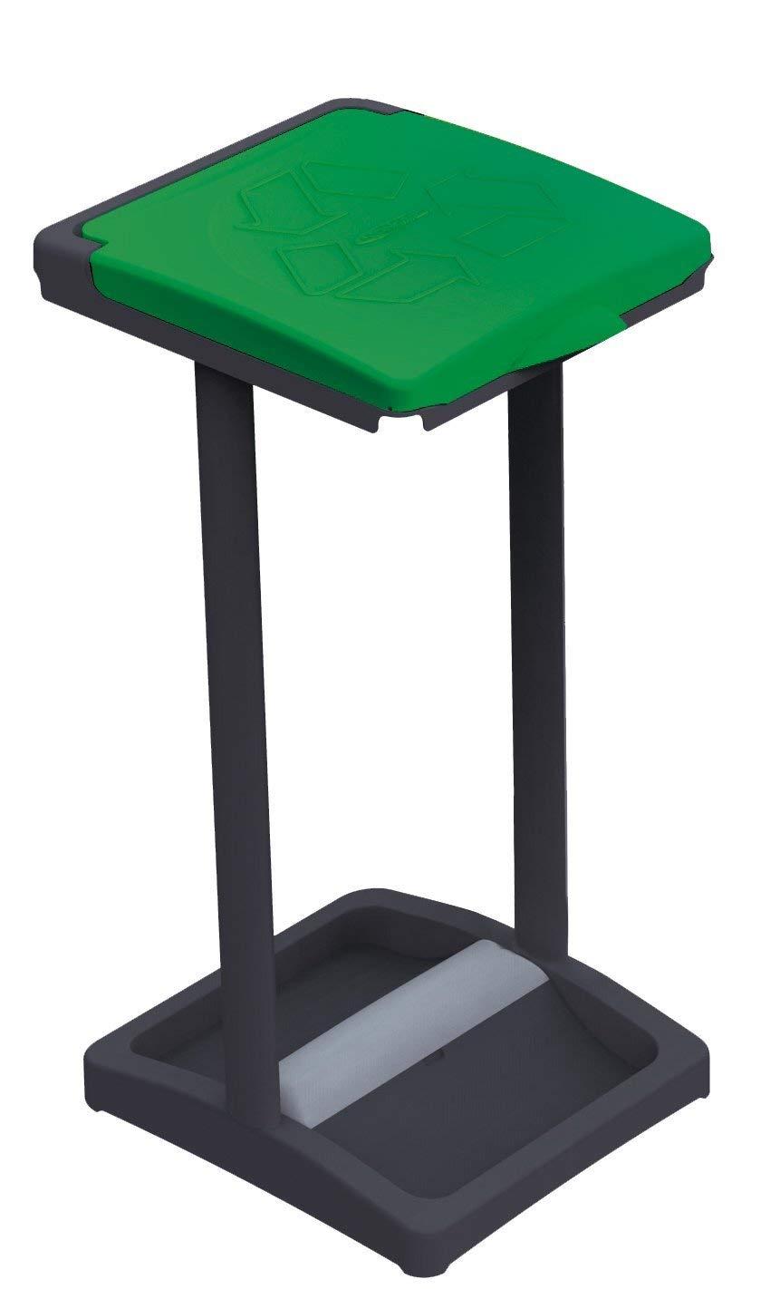 Mongarid New Mister B Single Waste Bag Holder Fabric Green One Size