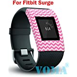 VOMA Band Cover for Fitbit Surge Smartwatch Slim Designer Sleeve Protector Accessories