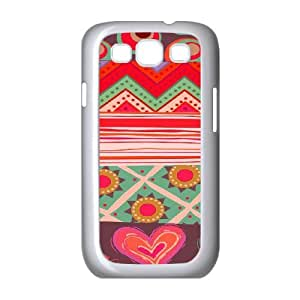 Tribal Pattern Case For Samsung Galaxy S3 White Nuktoe672694