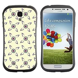 ArtSpace Premium Hybrid Back Case Cover Samsung Galaxy S4 IV i9500 ( amazing flowers )