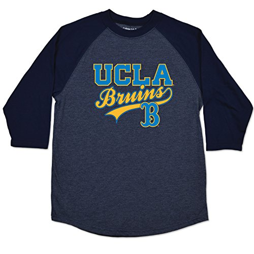 College Kids NCAA UCLA Bruins Youth Home Run Raglan for sale  Delivered anywhere in USA