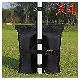 KingShade Weight Bags for Pop up Canopy, Sandbag for Instant Sun Shelters, Tent Gazebos Leg Sandbag Anchor 4-Pack