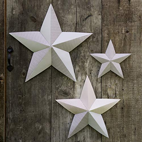 Wall Art Stars Pattern by Amy Barickman -