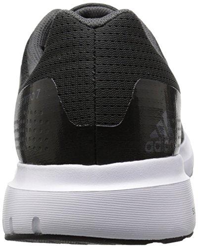 Adidas Performance Duramo 7 M zapatillas de running, negro / plata / gris, 6,5 M con nosotros Solid Grey/Black/Granite