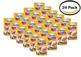 Pack of 24 - Delectables Stew Lickable Treat Chicken & Tuna For Cats, 1.4 OZ