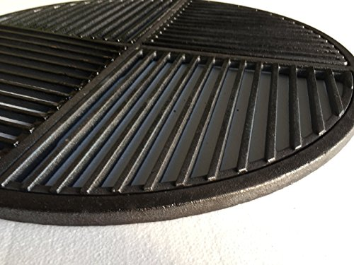 Lowest Prices! Cast Iron Grate, Pre Seasoned, Non Stick Cooking Surface, Modular  Fits 22.5 Grills