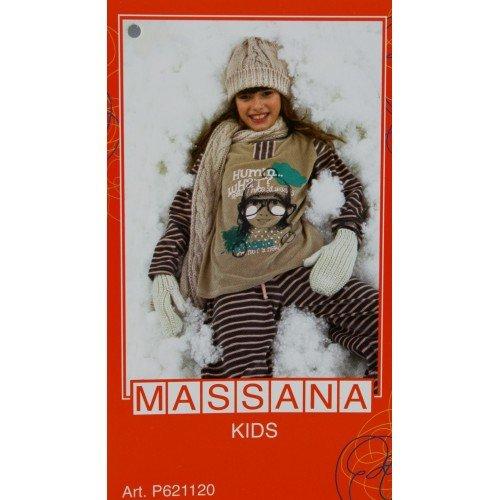 CAL FUSTER - Pijama Massana de Invierno Niña Talla 14: Amazon.es: Ropa y accesorios