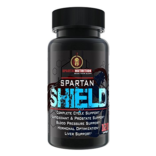 Sparta Nutrition Spartan Shield Cycle Support Supplement - Kidney Support, Liver and Organ Defender, and Prostate Support for Everyday Health or Post Cycle | Cycle Assist Supplement, 120 (Organ Shield)