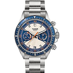 Tudor Heritage 70330B Chrono Blue Stainless Steel Automatic Men's Watch