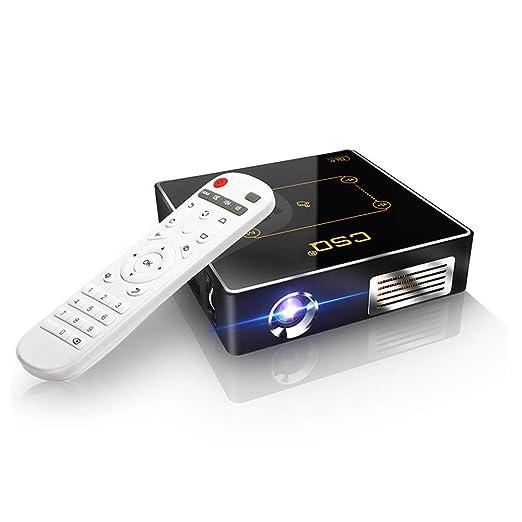 NCBH Proyector portátil, Mini 4K HD Proyección Tecnología DLP ...