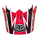 Troy Lee Designs Adult D2 Visor Proven BMX Helmet Accessories - Red/One Size