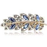 Libaraba Fashion Luxurious Crystal Decoration Flower Barrette Hairpin