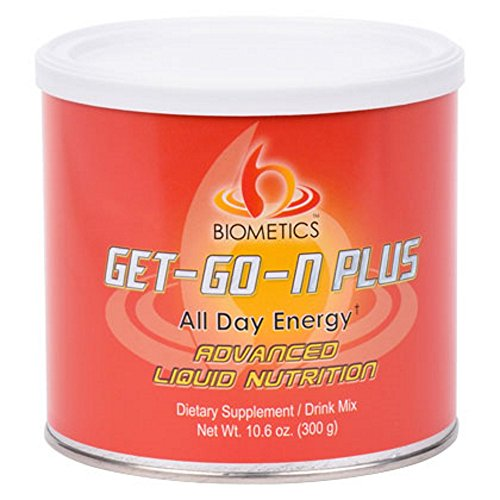 Biometics Get-Go-N Plus All Day Energy Natural Energy Boost That Lasts All Day 10.6 oz