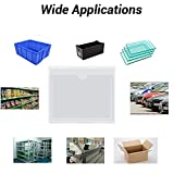 35pcs Self-Adhesive Index Card Pockets with Top
