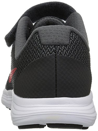 NIKE Kids' Revolution 3 (Psv) Running-Shoes, Black/University Red/Dark Grey, 1 M US Little Kid by Nike (Image #2)