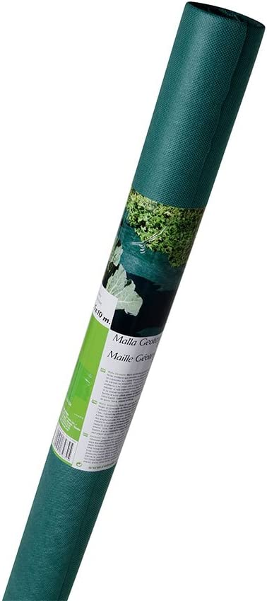 Catral 54010022 - malla geotextil 1.50 x 10 m verde oscuro 80 grs