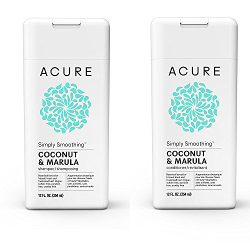 Acure Organics Coconut Hair Straightening All Natural Shampoo