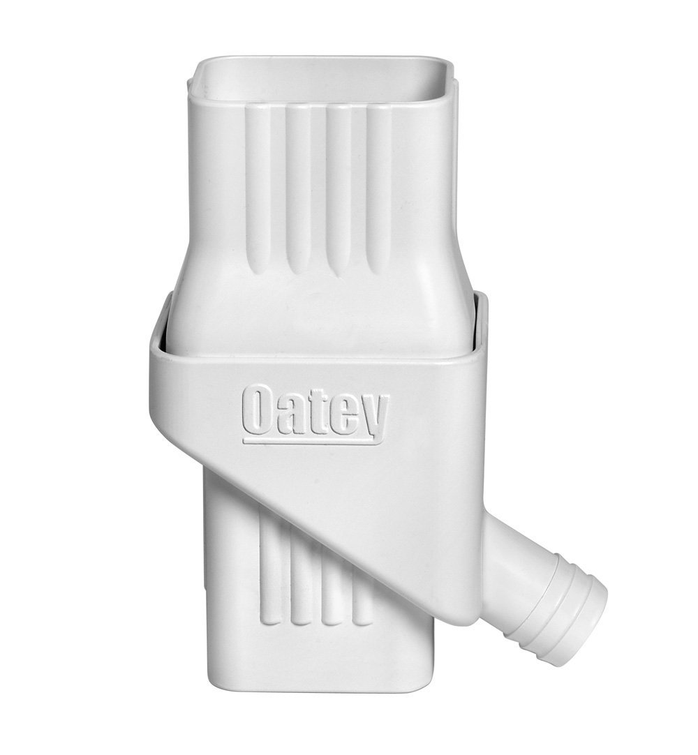 Oatey Mystic Rainwater Collection System Fits 2'' X 3'' Residential Downspouts (Renewed) by Oatey
