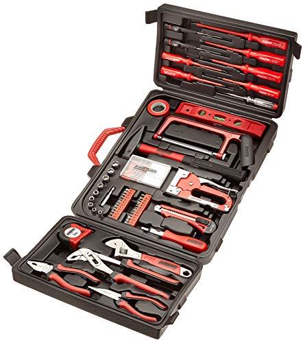 Mannesmann – M29065 – Gama de herramientas del hogar en maletín abatible