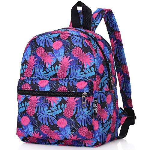 Bag Mini Grip (Lightweight Travel School Mini Backpack for Women Girls Boys Teens Kids Children (Tropical Blue Small))