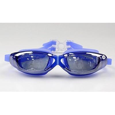 Lunettes de natation HD anti-brouillard étanche à l'épreuve des lunettes de silicone