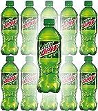 Mountain Dew, 20oz Bottle (Pack of 10, Total of 200 Fl Oz)