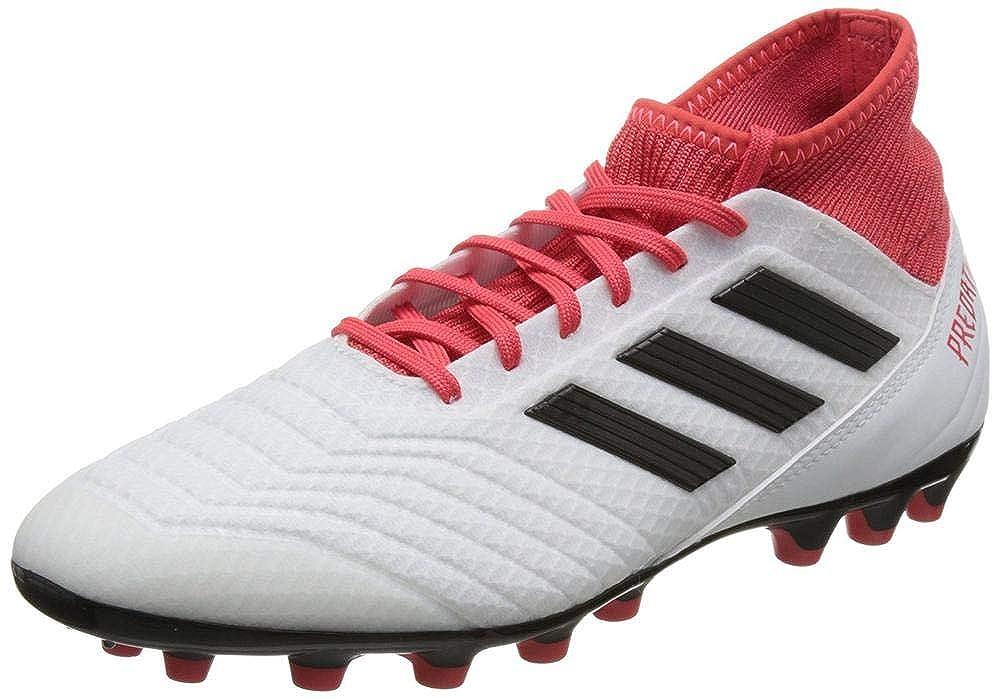 Adidas Weiß Herren Protator 18.3 Ag Fußballschuhe Weiß Adidas Schwarz Rot 40 2 3 EU 15bac2
