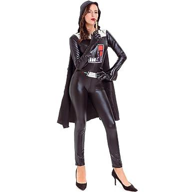 Hombres Y Mujeres Disfraces De Halloween De Charol Manto ...