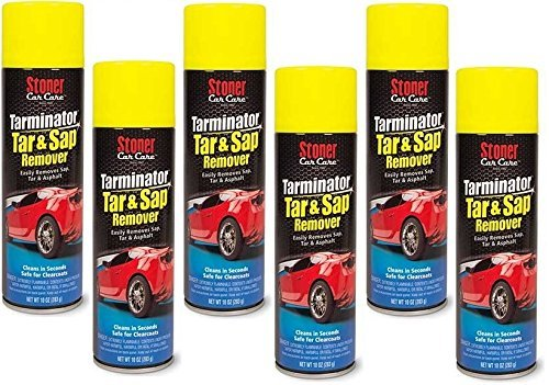 Stoner 91154-6PK Bug and Tarminator Bug/Tar/Sap/Grease Remover - 10 oz., (Pack of 6)