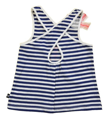 Nautica Baby-Girls Infant Fashion Graphic Tank and Knit Short Set, Sail White, 24 Months