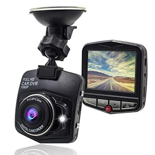 G-Sensor Maxwe cruscotto auto fotocamera 1080p FHD auto DVR telecamera abitacolo video registratore con visione notturna rilevatore di movimento e comando monitor registrazione del ciclo