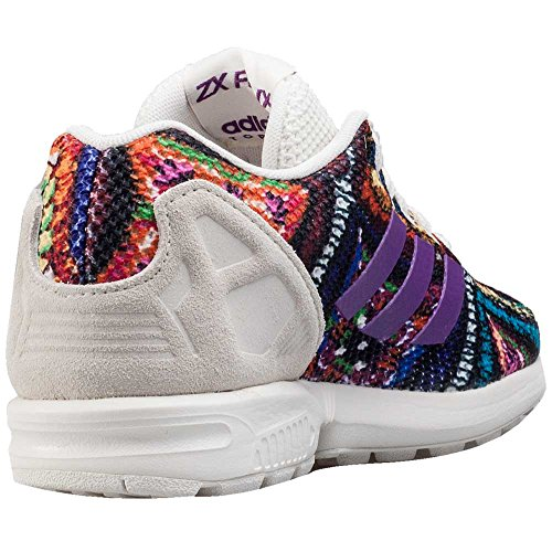 36 3 EU ZX Mid adidas White 2 Shoes 4UK Originals Grape Flux Off Shoes qwPFzB