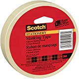 Scotch(R) Home and Office Masking Tape, 3/4-Inch x 54.6 YardsTan (3436)